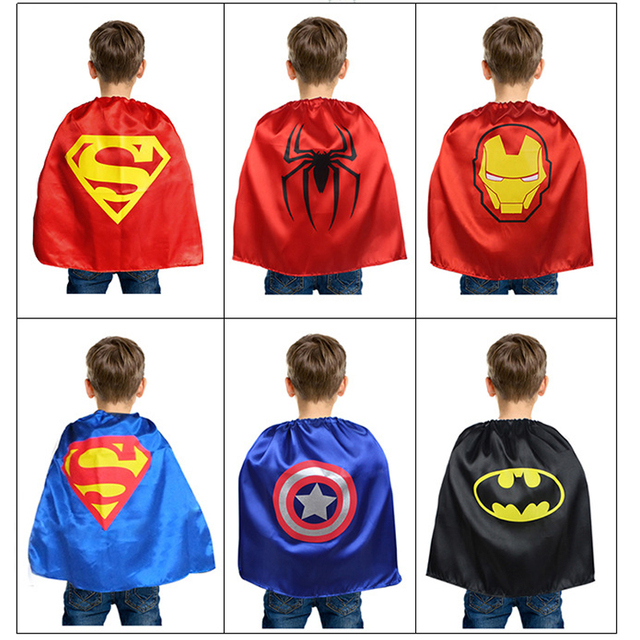Children Halloween Birthday Party Costumes Superhero cape batman super Hero Costume mask for boys Kids superman  sc 1 st  AliExpress.com & Children Halloween Birthday Party Costumes Superhero cape batman ...
