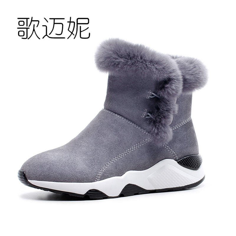 snow boots winter shoes women ankle boots botas mujer bottine femme ladies fur boots bottes femmes cuissarde bottes femme цены онлайн