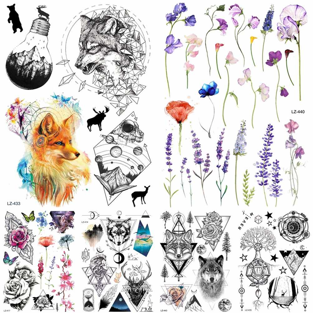 Elegante переводные татуировки фото