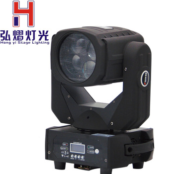 חדש LED סופר Beam הזזת ראש אור 4*25W קרן אור DMX512 עבור דיסקו DJ מועדון בית גן מסיבת חתונה אפקט