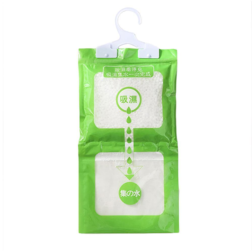 Desiccant Packets Moisture Absorbent Bag Hanging Wardrobe Closet Dehumidizer Desiccant Bag Household Room Mold Remover Gel