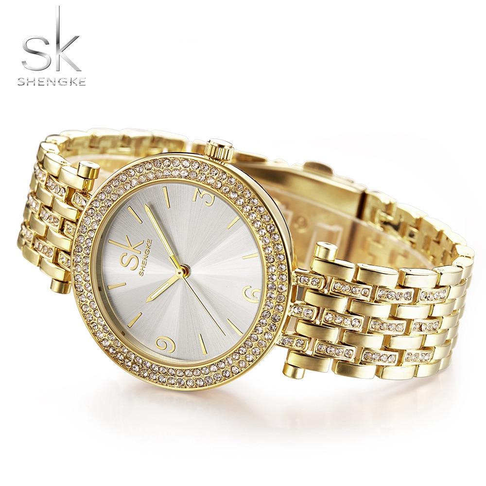 SK Silver Watch Women 2018 Horloges Luxe Waterproof Horloges Dames - Dameshorloges - Foto 2
