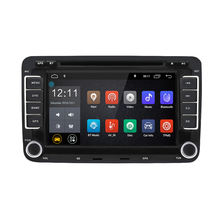 hot deal buy rm - clvw70 - d 7 inch universal car multimedia player android 6.0 1024 * 600 double din 1g ram 16g rom car dvd player for vw