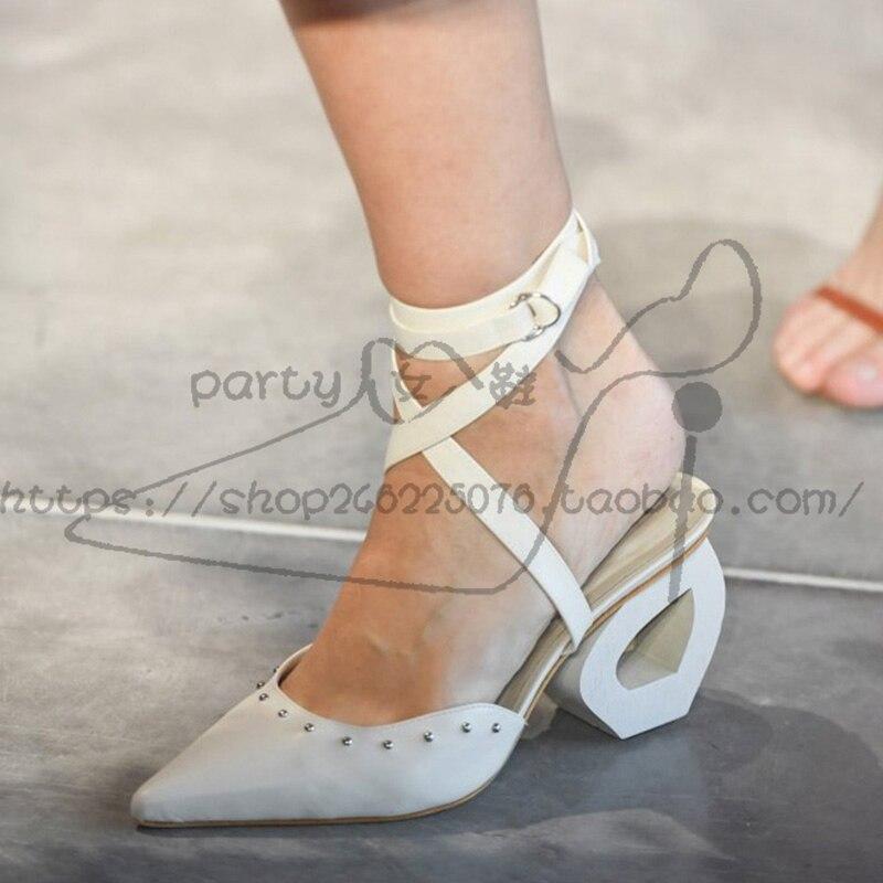 Partie As Feminina Lacets Sandalias Piste Dames Femmes Slingback Sandalia Femme Show Rivets Haute Pompes De Show À Chaussures Mujer as Mariage Talons 7A74Fwq