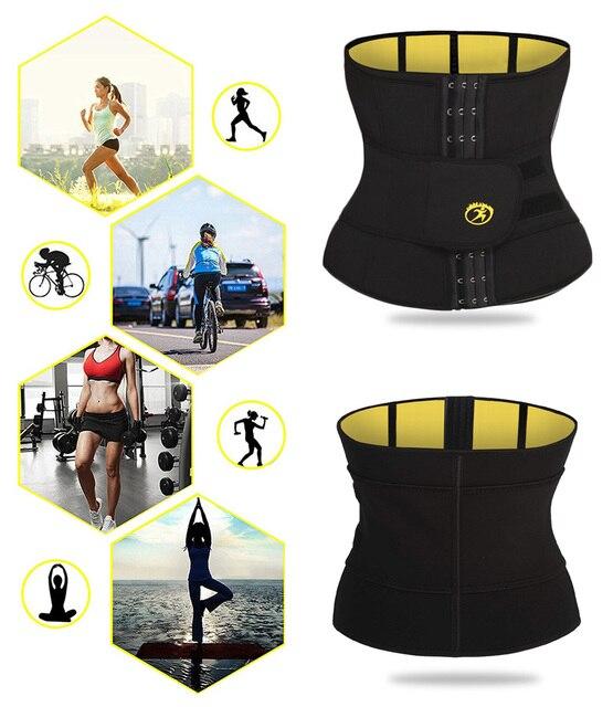NINGMI Males Modeling Belt Slimming Waist Trainer Mens Body Shaper Corset Neoprene Shapers Tummy Trimmer Shapewear Cincher Strap 3