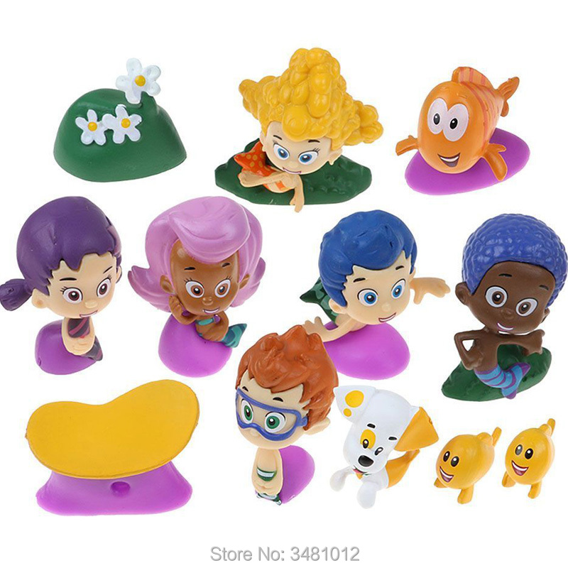 Aliexpress.com : Buy 12pcs Bubble Guppies Molly Gil Oona ...