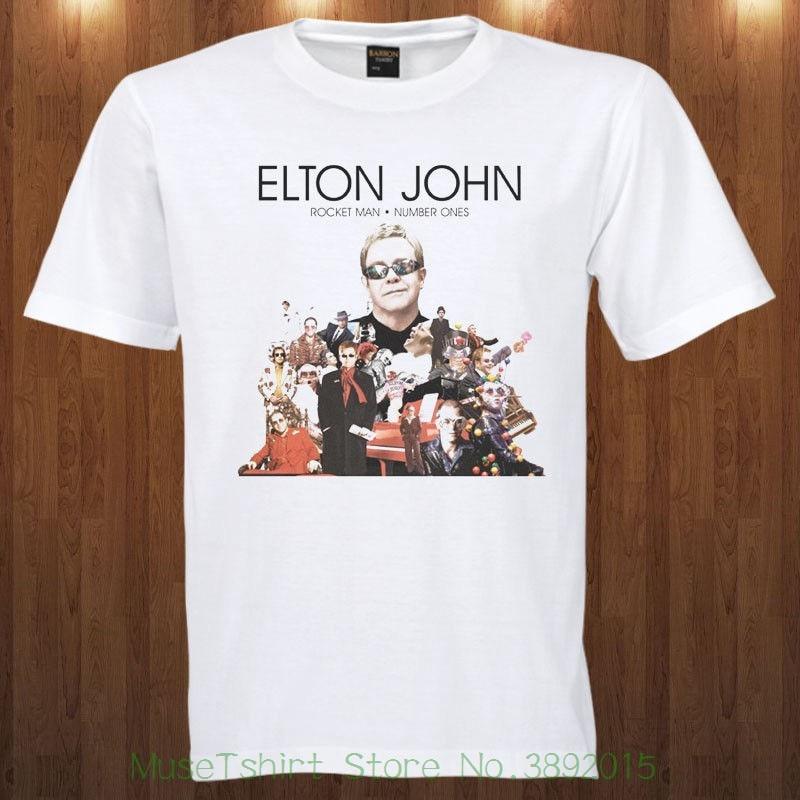 Elton John Tee Pop Rock Singer , Pianist , And Composer S M L Xl 2xl 3xl T-shirt 2018 New Arrival T-shirt
