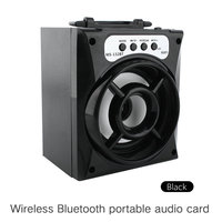 10 Pcs Wireless Bluetooth Speaker Of Outdoor LED Support TF Card USB FM Radio Super Bass