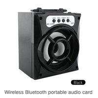 10 Pcs Wireless Bluetooth Speaker Of Outdoor LED TF Card USB FM Radio Super Bass Wireless