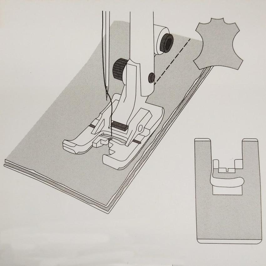 Non-stick Glide Foot H For Husqvarna Viking #4127961-45 Group 1,2,3,4,5,6,7