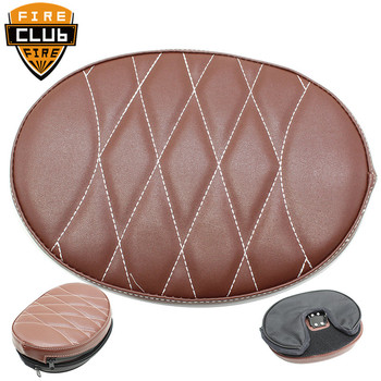 Synthetic Leather Backrest Cushion Pad Fit For Harley Touring Road King Street Electra Glide Street Road Glide FLHX 1997-2019