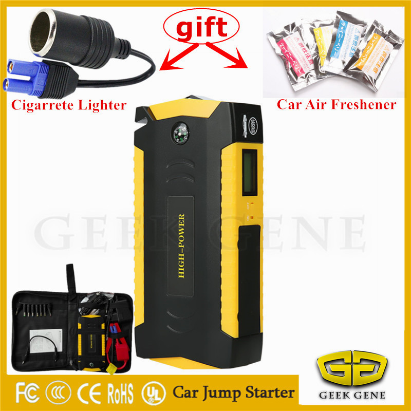 2017 Emergency Car Jump Starter Protable 16000mAh Power Starting Device 600A Car Charger For Car Battery Booster Diesel Petrol 18000mah emergency car jump starter charger booster emergency car jump starter