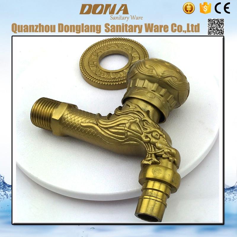 livraison gratuite de luxe bronze machine à laver robinet pour ... - Installer Robinet Machine A Laver