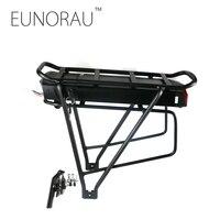 36V17Ah 1203 Rear Rack Black Battery For E Bike