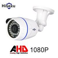 Hiseeu ABS Case AHD Analog High Definition Metal Camera AHDH 1080P AHD CCTV Camera Security Outdoor