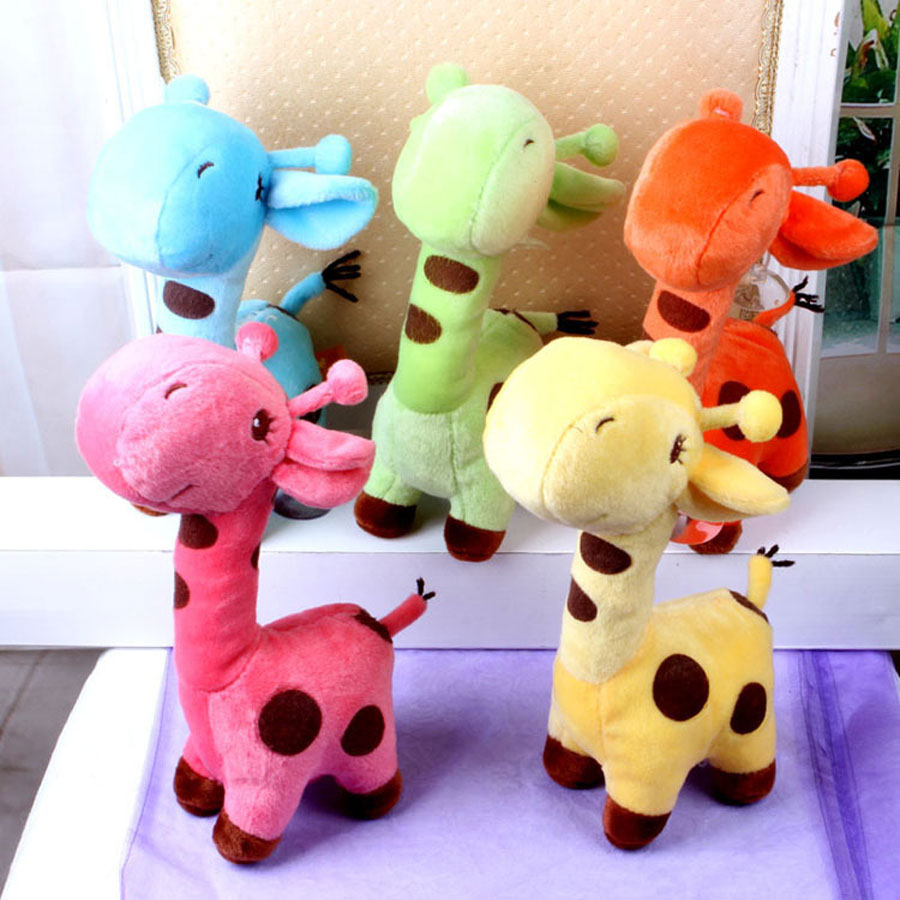 18cm 25cm 40cm 50cm Cartoon Deer Shape Plush Dog Toy Puppy Sound Chew Toys Chihuahua Toys Chew Pet Dog Dental Teeth Biting Ring