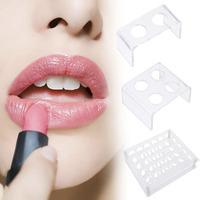 HOT Clear Acrylic 30 Lattices Lipstick Holder Display Stand Makeup Case Box Container Organizer