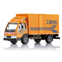 1:50 Alloy Box Van Truck Car Model Transport Vehicle Dinky Toys For Children Boys Birthday Gift