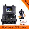 (1 conjunto) HD 1000TVL 7 polegada tela Colorida versão Noite à prova d' água Câmera subaquática Da Pesca DVR Sistema de CCTV 30 M de cabo