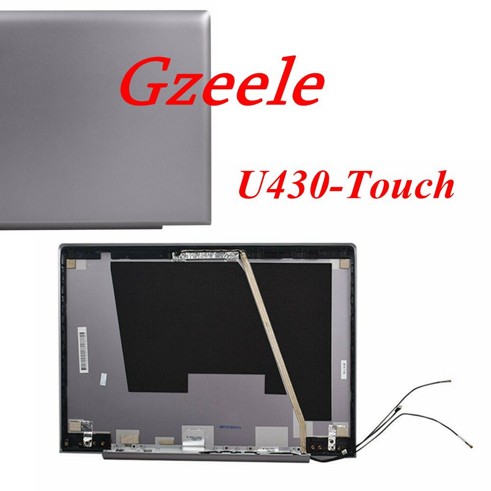 GZEELE New LCD Back Cover Lid 3CLZ9LCLV00 90203118 For Lenovo IdeaPad U430T U430 Touch Touch Lcd