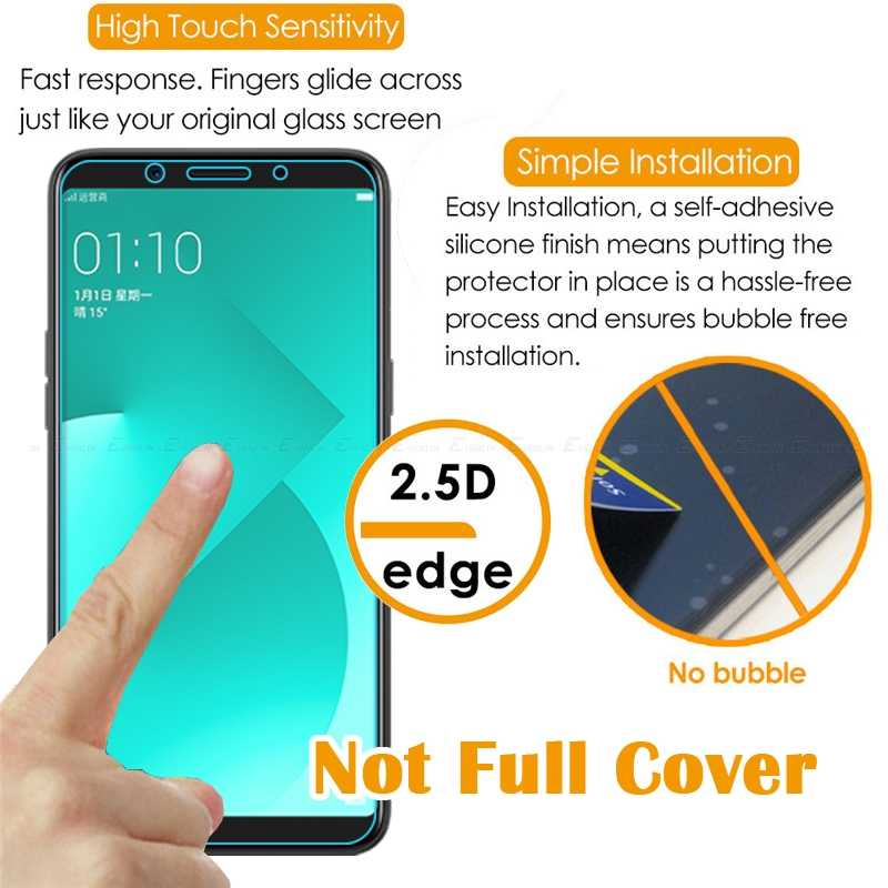 9H 2 5D Tough Screen Protector Tempered Glass For OPPO Find X R15 Neo Dream  Mirror F7 Youth F5 Lite Clear Protective Film