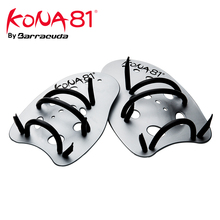 Barracuda KONA81 MAXIVICTORY HAND PADDLES Professional Swim Training Aid Adjustable Straps 2 Sizes (S/L) for all swimming levels