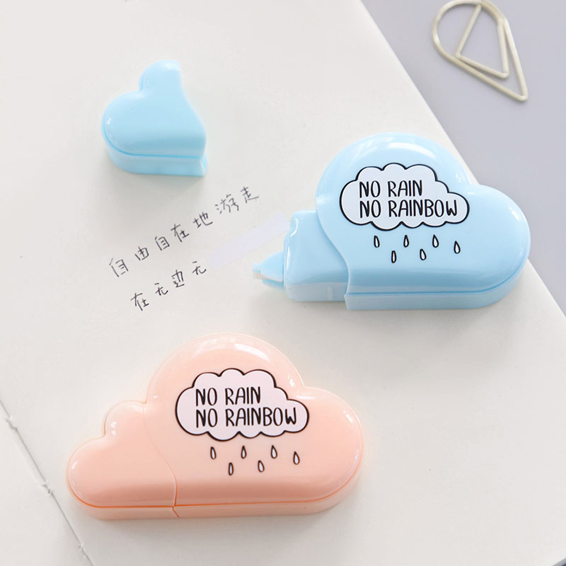 Cute Cloud Shape Correction Tape Kawaii 5M Candy Colors