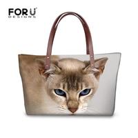 2017 Black Cat Ladies Messenger Bag Women Top Handle Bags Female Famous Brand Large Capacity Tote