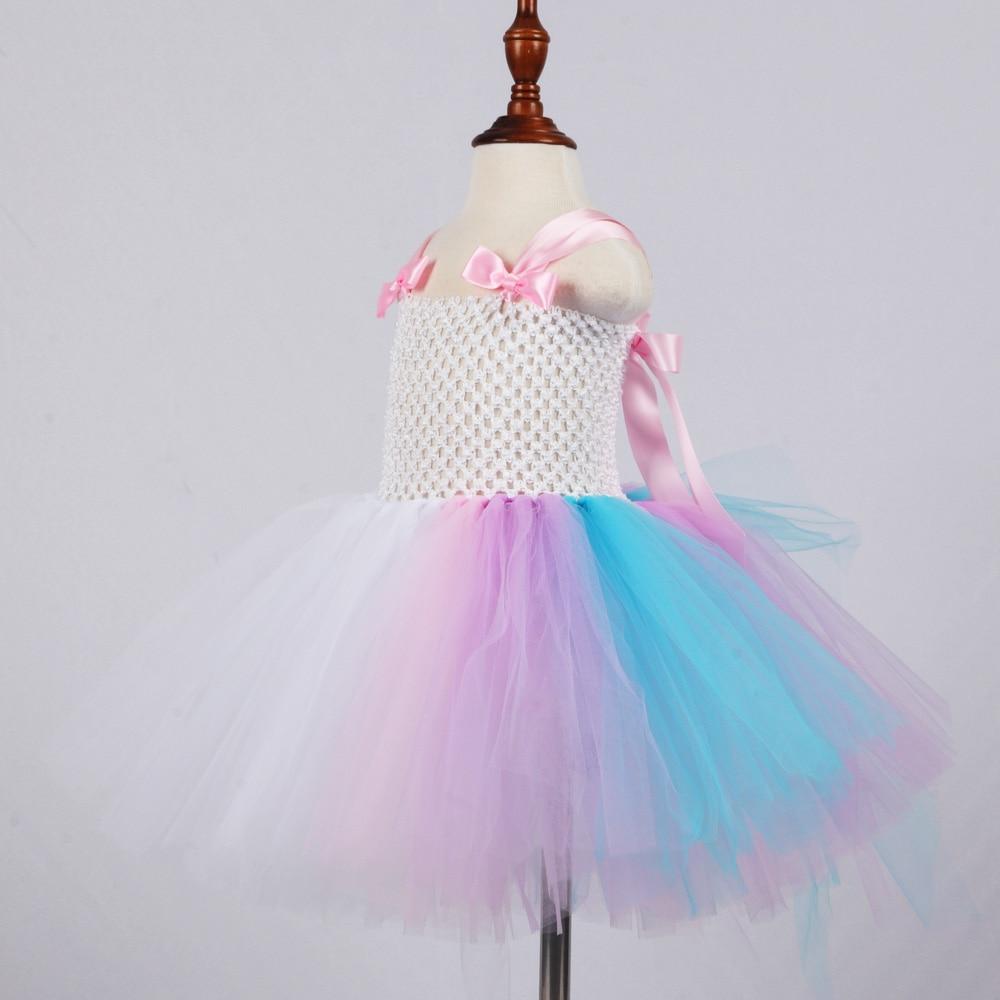 white unicorn tutu dress for girls baby unicorn birthday