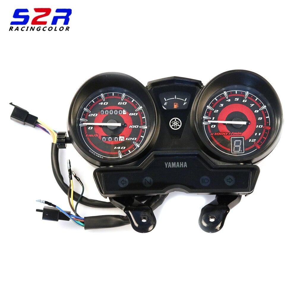 Motorcycle Tachometer for YAMAHA YBR125 YBR YB 125 JYM125 New Speedometer Meter Gauge Moto Tacho Instrument