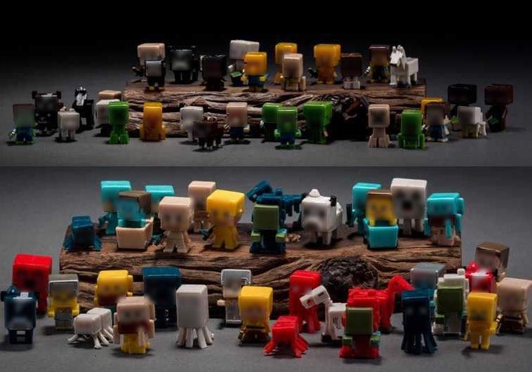 72pcs lot 3cm high quality juguetes minecraft toys set building block toys assembly toy pvc action figure set
