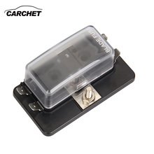 CARCHET Fuse Box Automotive 4 Way ATC ATO Fuse Block Holder Box Blade Led Indicator Cover_220x220 popular motorcycle fuse block buy cheap motorcycle fuse block lots motorcycle fuse box at panicattacktreatment.co
