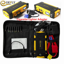 Super Power Auto Jump Starter Power Bank 600A Draagbare Auto Batterij Booster Oplader 12 v Uitgangspunt Apparaat Benzine Diesel Auto starter(China)