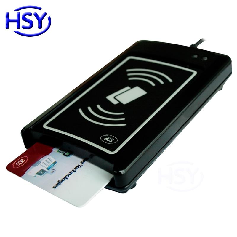 Lecteur d'interface USB double sans Contact DualBoost II 13.56 Mhz lecteur de carte RFID NFC intelligent