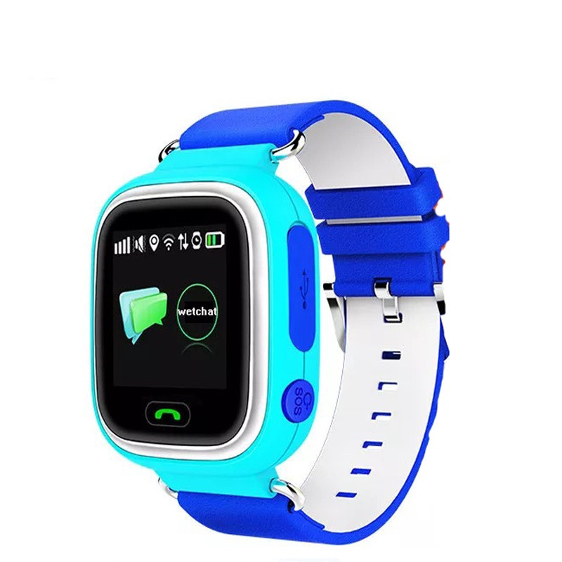 Colorful Touch Screen Q90 Smart Watch SOS Call Location Finder Locator Device Tracker GPS Kid Safe Anti Lost Monitor PK Q80 Q50 ...