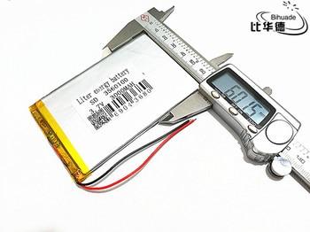 10pcs 3.7V,3000mAH,3560100 PLIB ( polymer lithium ion battery ) Li-ion battery for tablet pc,GPS,mp3,mp4,cell phone,speaker