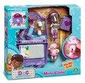 Parque Infantil en la Caja Del Filtro con Doc Doc. Mcstuffins Mini Clínica y lambie mini figuras y accesorios toys muñecas para chicas regalos de navidad