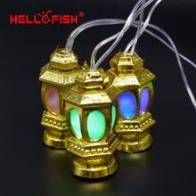 2019 New Year Christmas Light AC110V-220V 4M 20 LED Chinese Lanterns String Light for Holiday Party Home Decoration