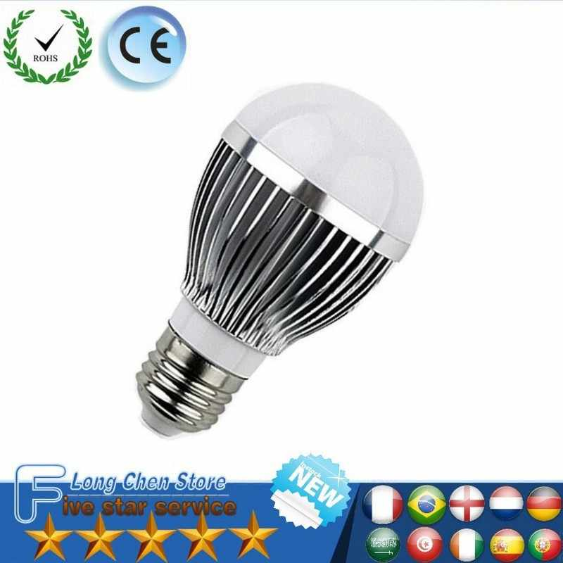 LED Bulb E27 E14 B22 5730SMD 6W 12W 15W LED Lamp aluminum 220V/85-265V Cold white/Warm white Light Bulb Home Led Spotlight Lamps