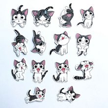 14 Pcs/lot Chi 'S Sweet Home Stiker Anime untuk Decal Snowboard Laptop Bagasi Kulkas Mobil Mobil Styling Stiker Pegatina(China)