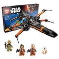 748 Шт. лепин 05004 05029 Star Wars Первый Заказ Poe X-Wing Star Fighter Строительные Блоки BB-8