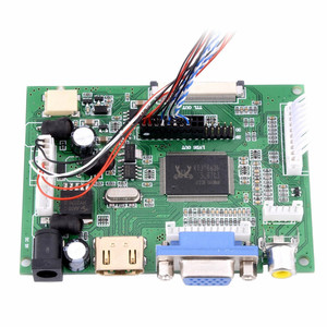 Image 5 - Accesorios para mechones 10,1 pantalla LCD Monitor LCD TFT + Kit HDMI VGA placa controladora de entrada para equipos de monitoreo
