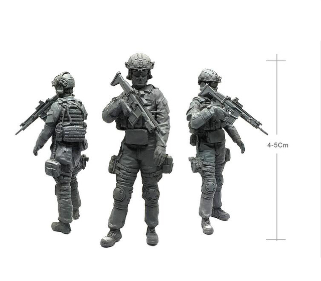tobyfancy 1/35 u.s army special commando automatic rifleman military