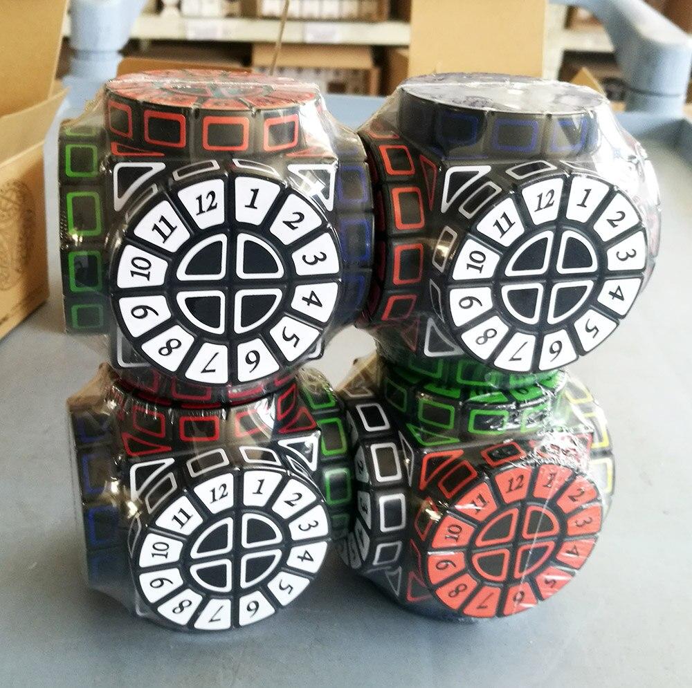 Cube magique de haute qualité de Machine de temps de cube magique de machine de temps avec le cube libre supplémentaire de Collection d'autocollants meilleur cadeau pour des cubers - 5