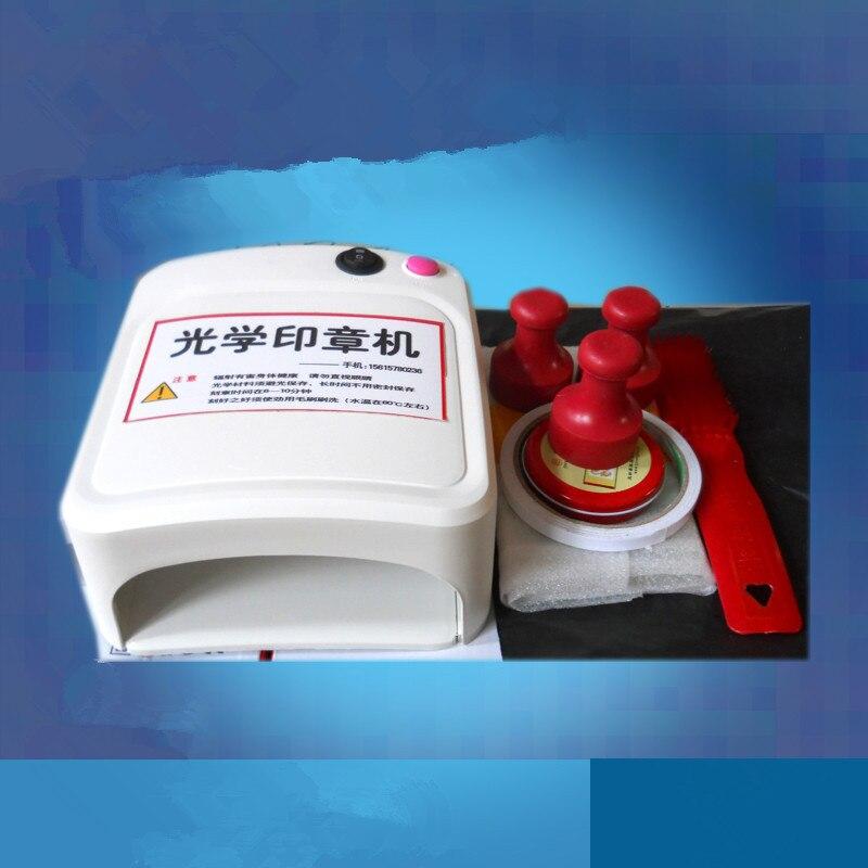 Timbre en caoutchouc faisant la machine VENJOYIT bricolage photopolymère plaque exposition unité timbre fabricant artisanat Kit