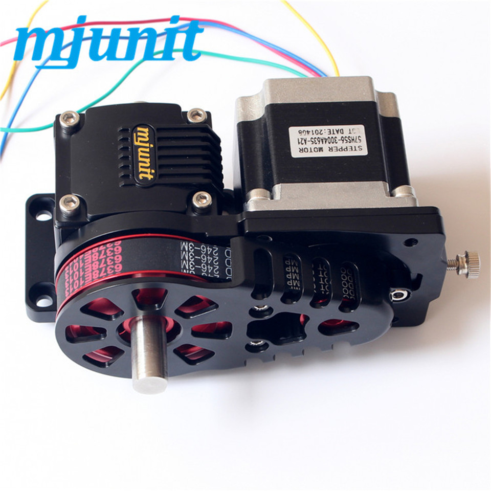 Mjunit Aluminum Alloy Linear Guideway Laser Unit--Middle Timing Pulley Reducer (1:3)