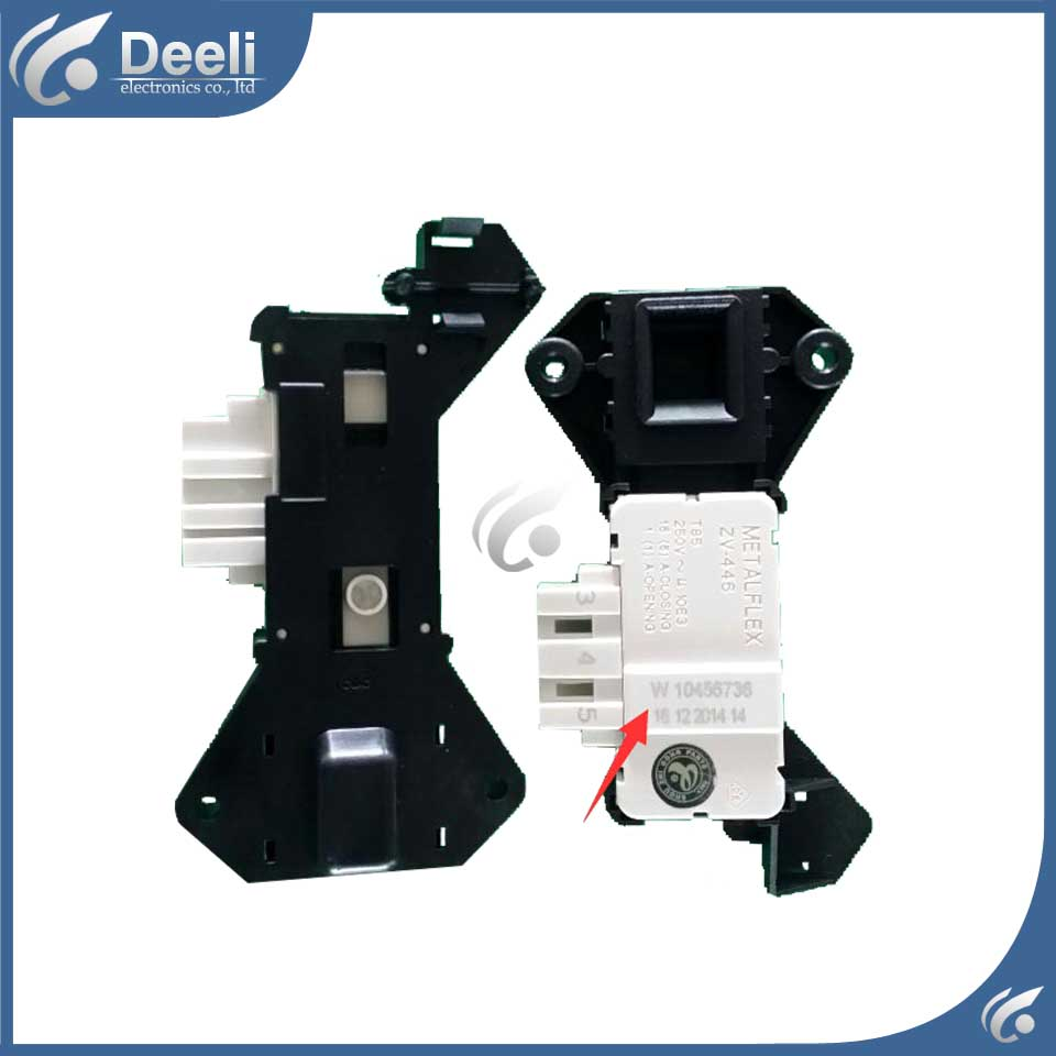 1pcs for drum washer door lock METALFLEX W10456736 washing machine electric door lock delay switch door lock t handle vending machine pop up tubular cylinder lock w 3 keys vendo vending machine lock serving coffee drink and so on