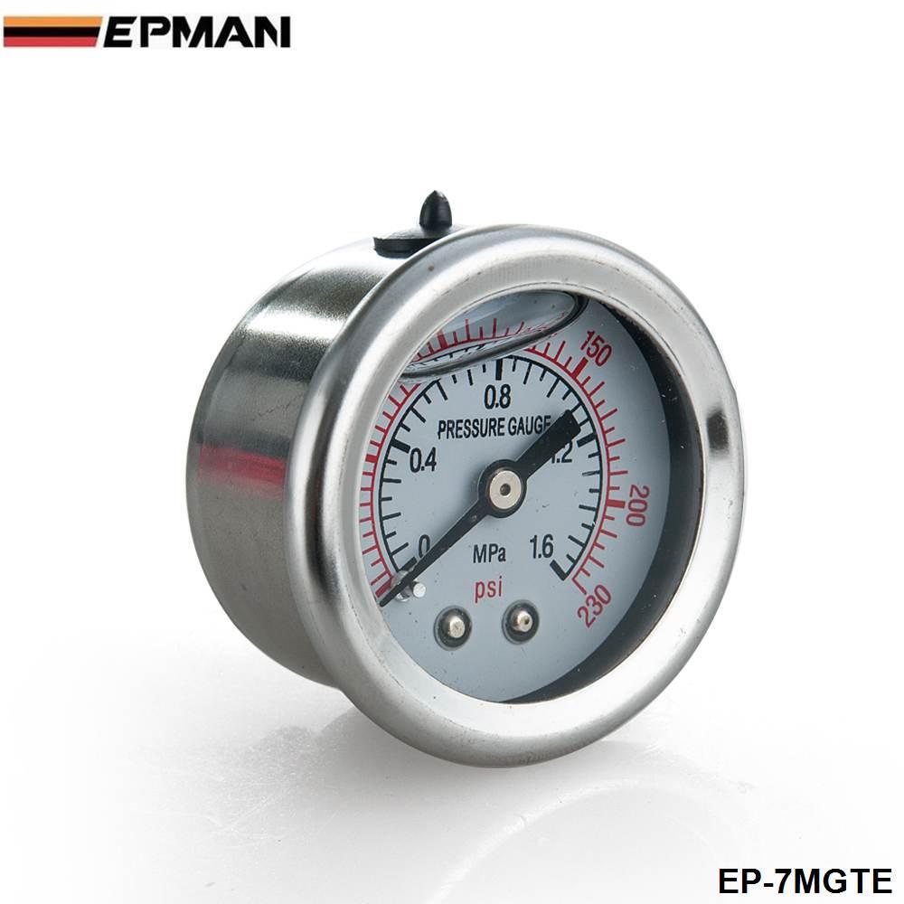Racing Adjustable Fuel Pressure Regulator Gauge Kit BLACK BLACK Fittings With Oil Line For BMW MINI racing adjustable fuel pressure regulator gauge kit black black