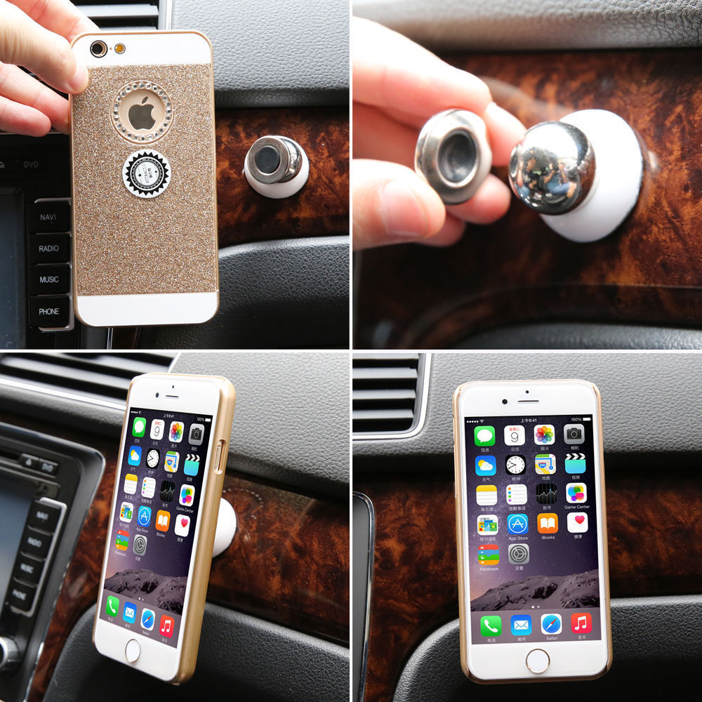 Universal air vent magnetic car cellphone mount holder 5