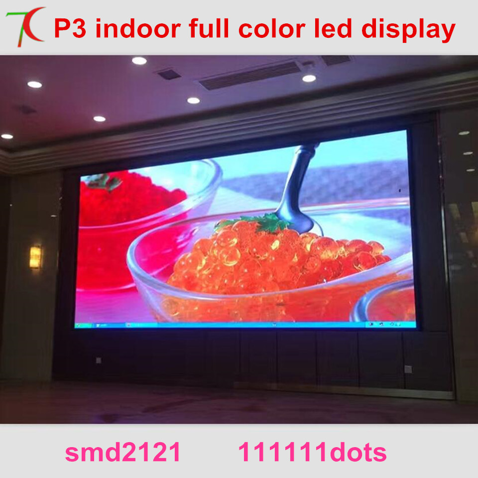 HD Led Expert P3 Indoor Full Color Led Video Wall Widely Use For  Multi-media Classroom Instead Of Projector